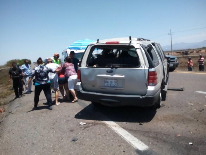 Jovencita muere en accidente carretero