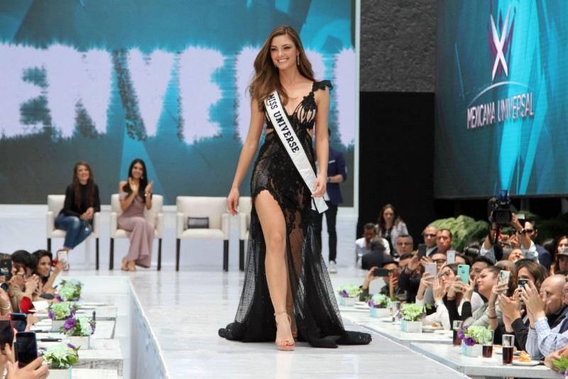 Miss Universo visitó nuestro país