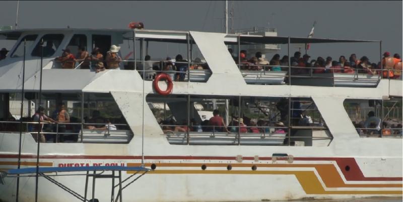 Se solicita poco el servicio de paseos en catamarán