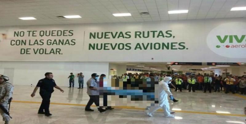 Un hombre armado provoca pánico en Aeropuerto de Hermosillo