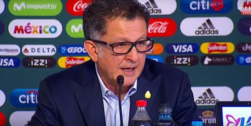 Osorio da a conocer a los seleccionados para el Mundial