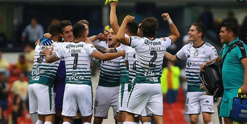 Santos empata con el América y se clasifica a la final del Clausura