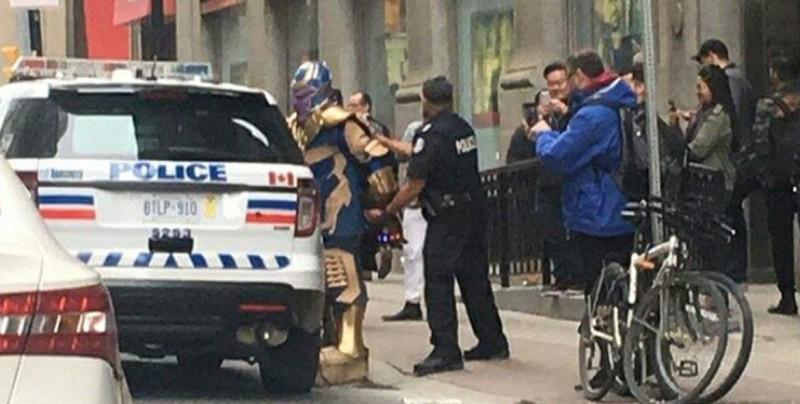 """Policía de Canadá captura a """"Thanos"""" en Toronto"""
