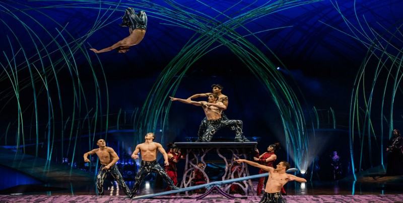 Circo Soleil, un homenaje teatral a la mujer