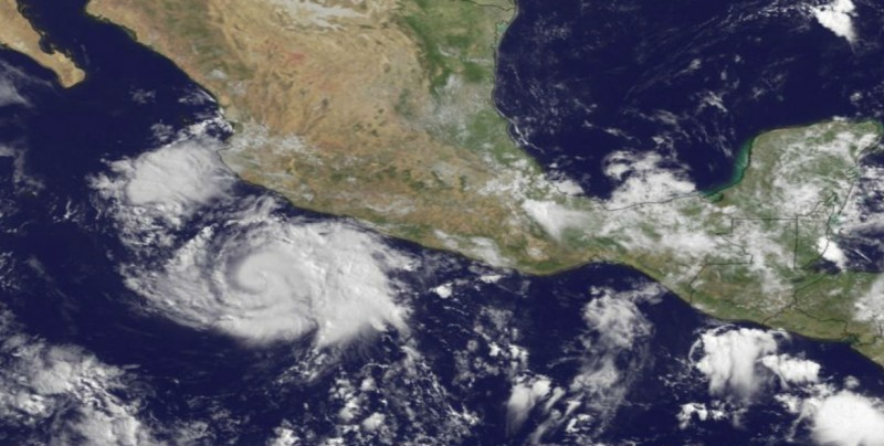 Inicia temporada de huracanes 2018 en el Océano Pacífico