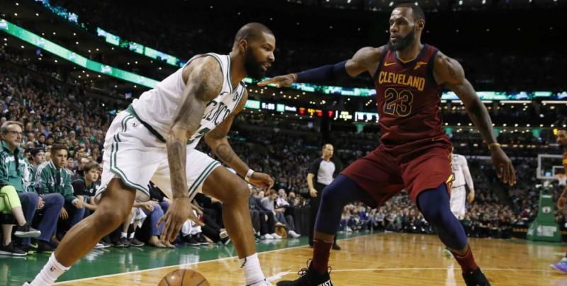 Celtics a medio camino de la final de la NBA