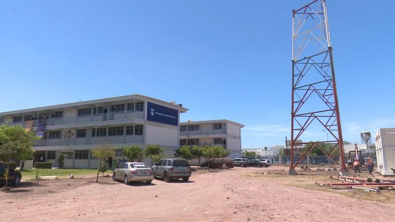 Inicia construcción de antena Radio UAS en Los Mochis