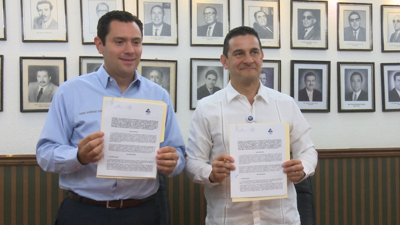 Firman convenio SEDECO y CANACO