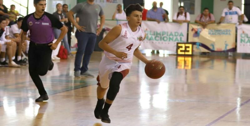 Sinaloa por dos oros en Basquetbol en ON2018
