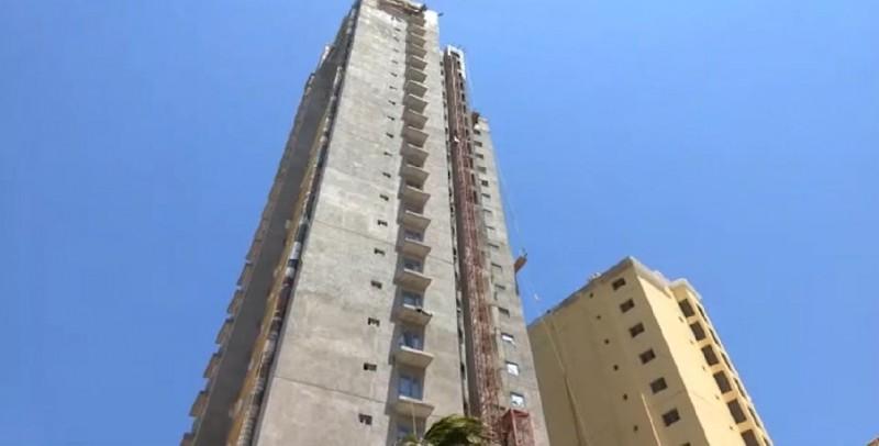 Muere joven en Mazatlán al caer de una altura de 27 pisos