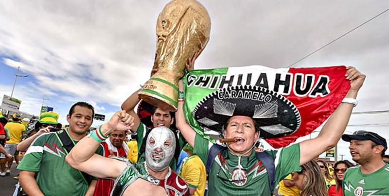 Si ya saben cómo somos... Los ridículos de mexicanos en los Mundiales