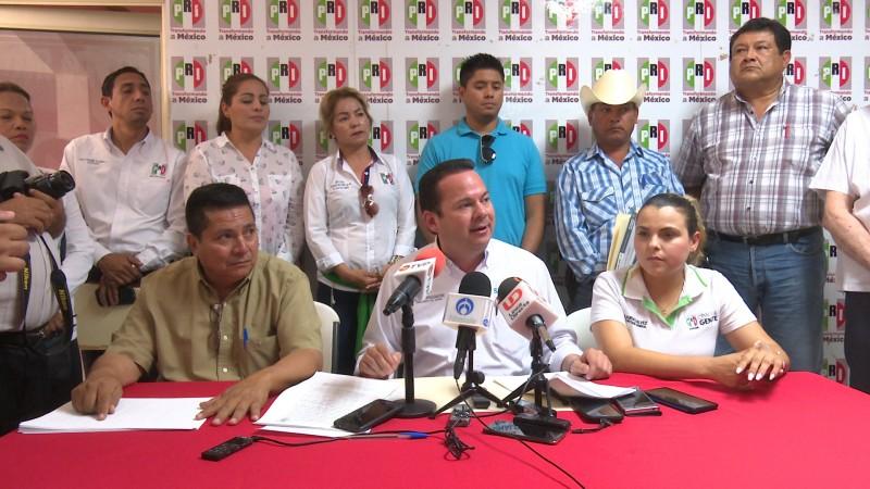 PRI interpone denuncia por guerra sucia