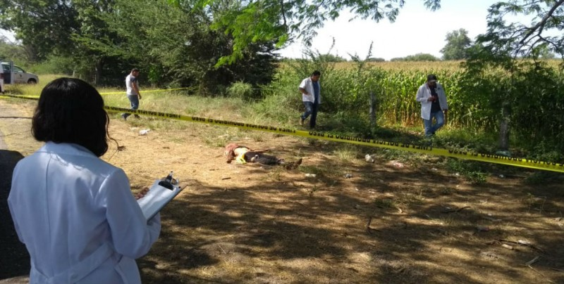 Hombre asesinado con heridas de arma blanca