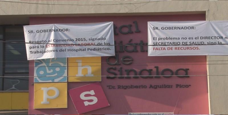 Se atenderá problema en el Hospital Pediátrico de Sinaloa dice Gobernador