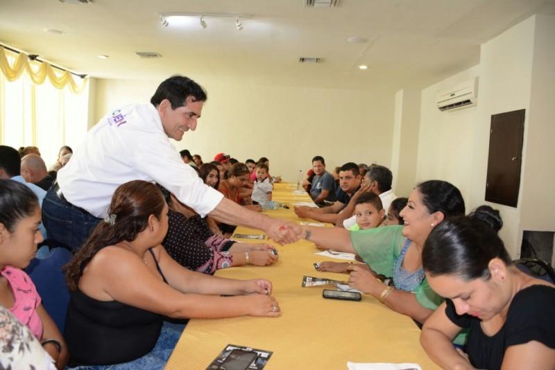 Refrendan líderes sociales del PAN apoyo a Cuén Ojeda