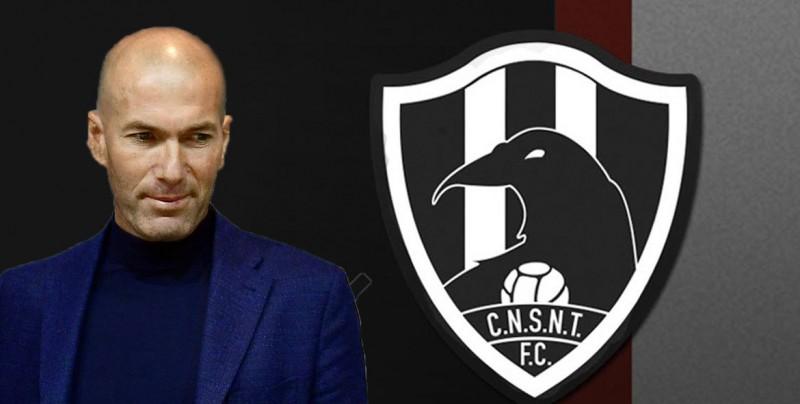 Club de Cuervos invita a Zidane a ser su nuevo DT