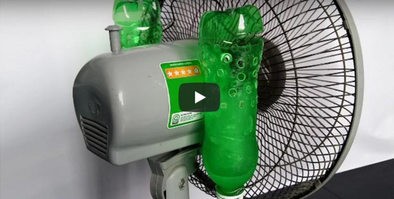 Cómo hacer tu propio aire acondicionado casero