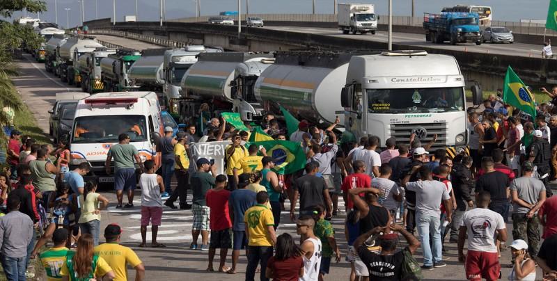 El presidente de Petrobras dimite tras la huelga por los precios del diesel