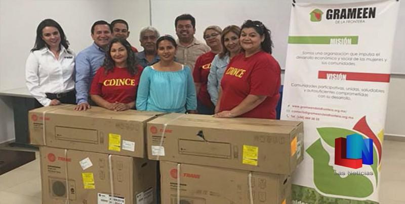 Envía Grameen apoyo a comunidades