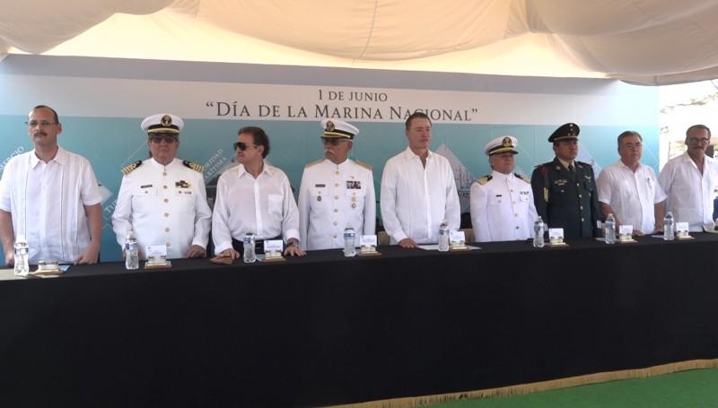 Conmemoran 101 aniversario del Día de la Marina