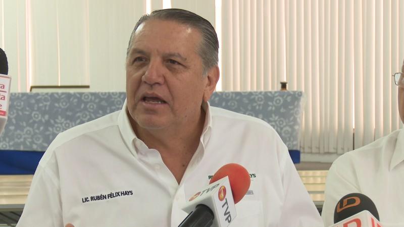 Ruben Félix denuncia discriminación del INE