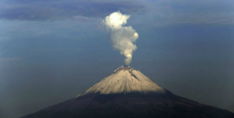 UNAM actualiza mapa de riesgos del Popocatépetl
