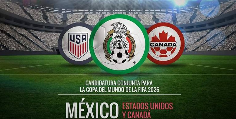 FIFA confirma las candidaturas Canadá-México-EU y la de Marruecos