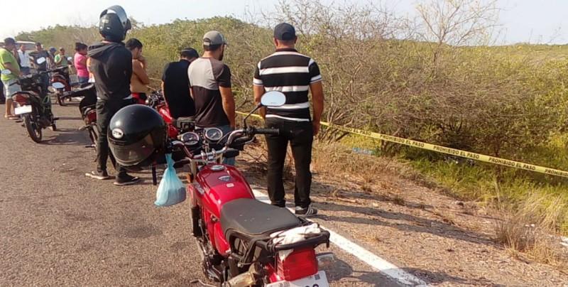 Un muerto y un herido en accidente de motocicleta