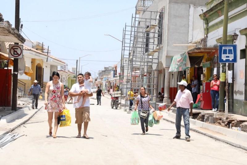 Inversión para 17 nuevas vialidades en Escuinapa