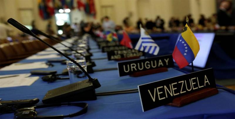 EE.UU. presiona al Caribe para suspender a Venezuela en la OEA