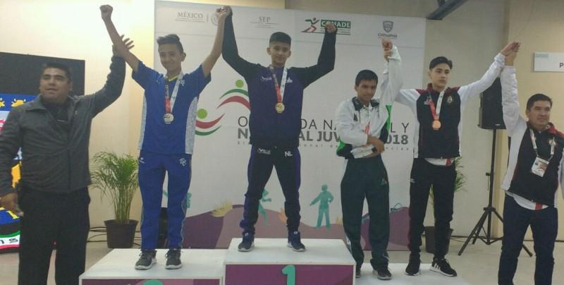 Seis medallas de bronce para Karate en ON