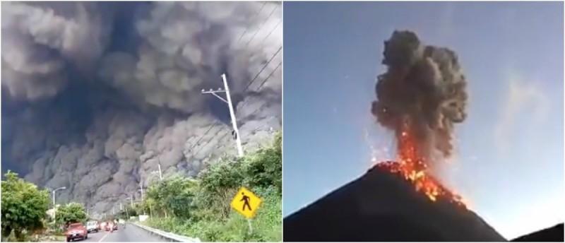 Volcán hace erupción en  Guatemala deja 25 muertos y 1,7 millones de afectados