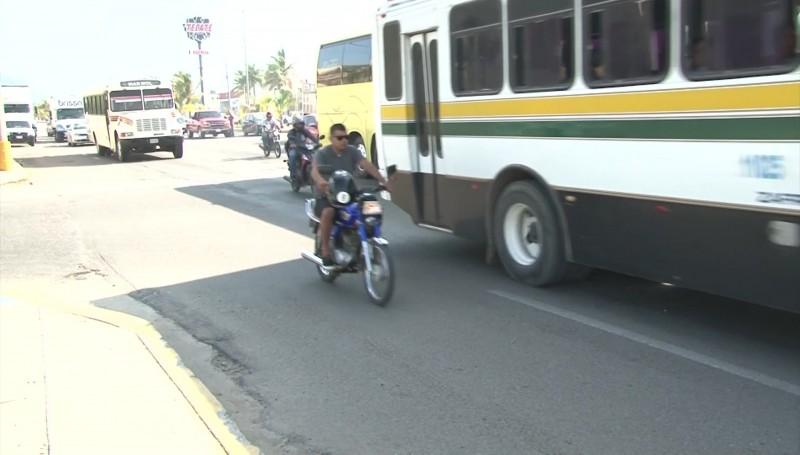 Rigurosa aplicación de reglamento a motociclistas