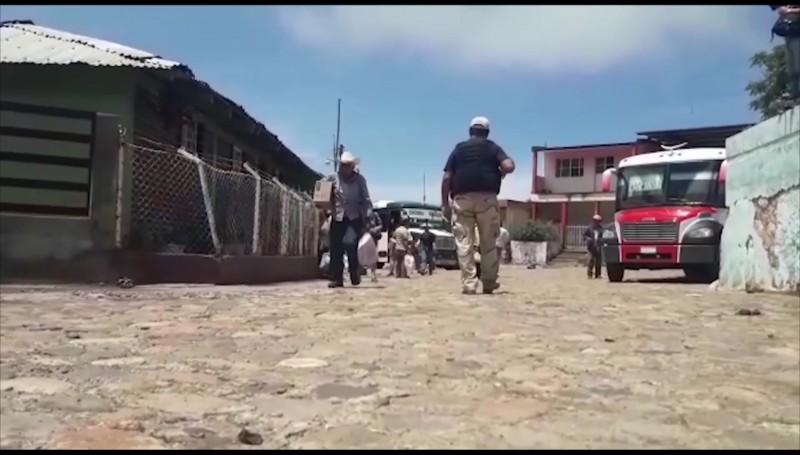 Violencia sigue expulsando familias de la sierra