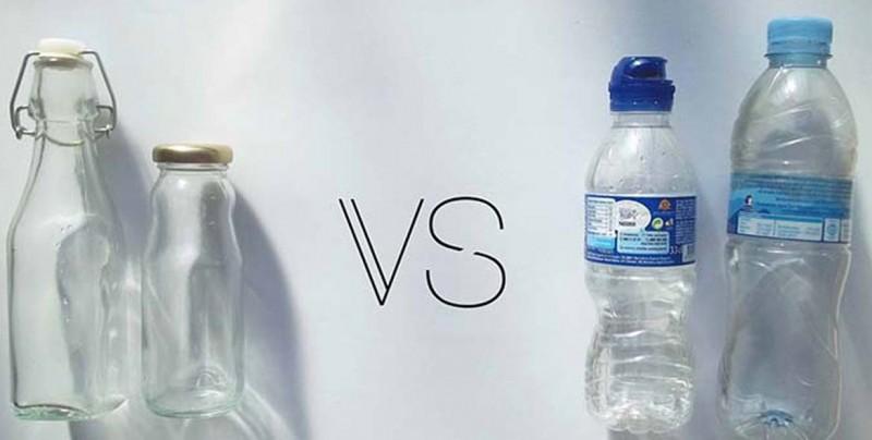 Si el vidrio tarda más en degradarse que el plástico, ¿por qué nos recomiendan utilizarlo?