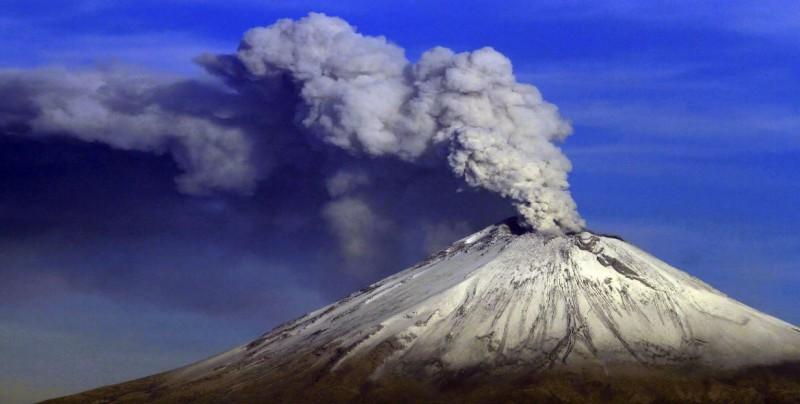 Actualizan mapa de riesgo del volcán Popocatépetl