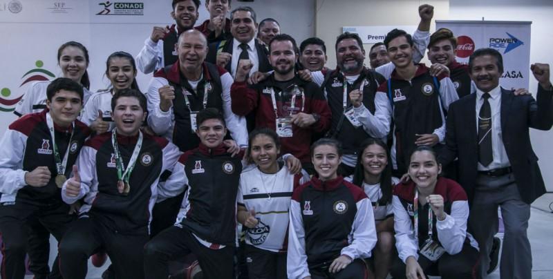 Cuatro oros para Sinaloa en Karate