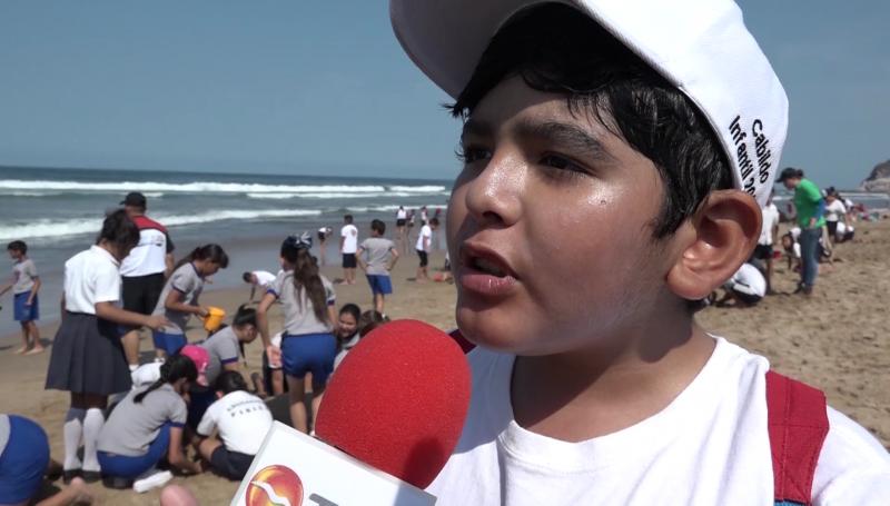 Urgente no contaminar el ambiente: Alcalde Infantil