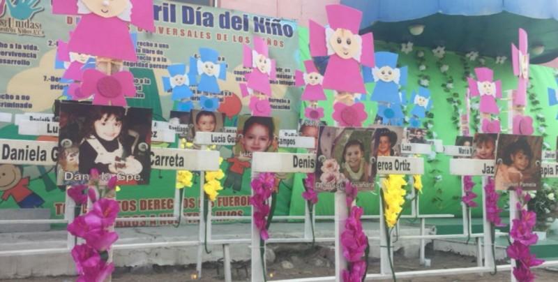 Realizan misa de aniversario luctuoso por tragedia en Guardería ABC