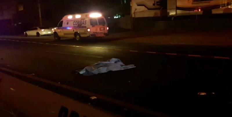 Muere hombre atropellado sobre el Libramiento Colosio