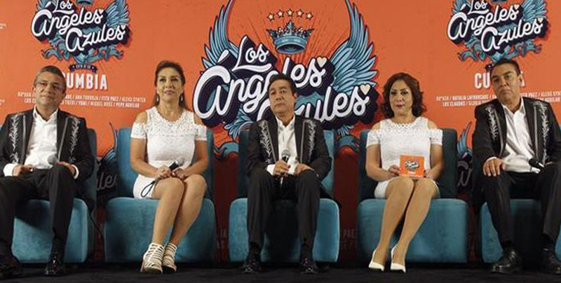 Los Ángeles Azules presentan su nuevo álbum con versiones de éxitos pop
