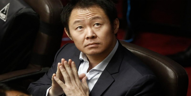 """Kenji Fujimori dice que Fuerza Popular ha """"judicializado"""" la política en Perú"""