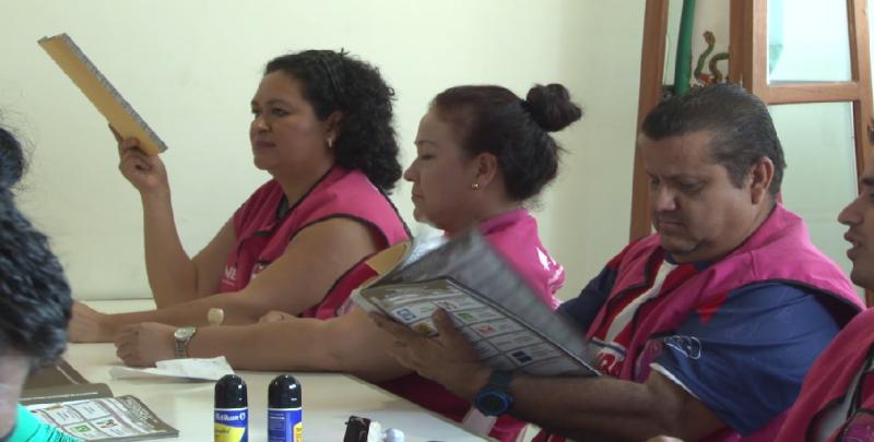 Llegan las boletas electorales a las instalaciones del INE