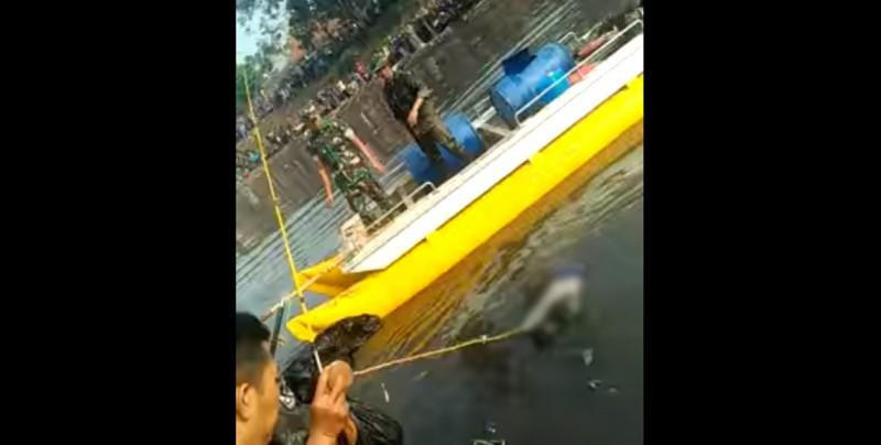 #VideoFuerte Cree haber pescado un enorme ejemplar en un río y esto fue lo que saco