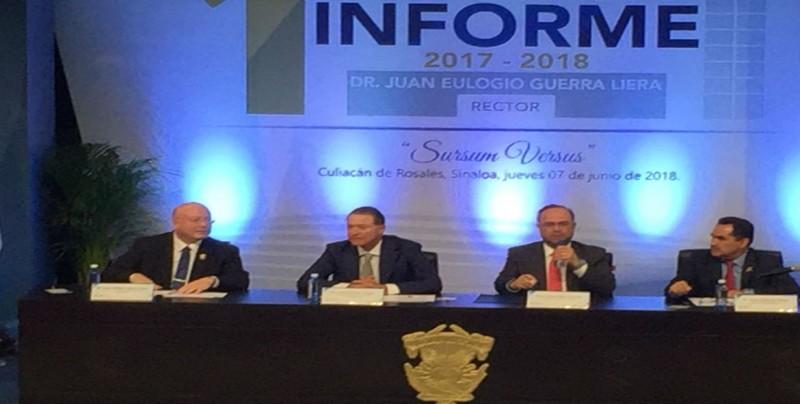 Rinde Informe Juan Eulogio Guerra Liera