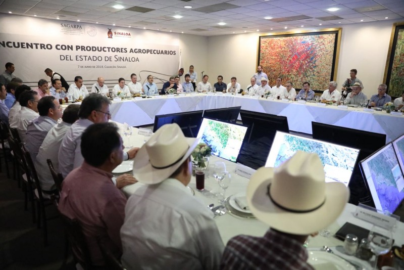 Refrendan respaldo a productores agropecuario y pescadores