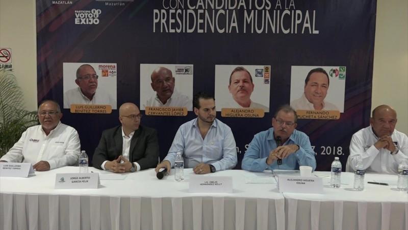 Se realizó el primer encuentro entre candidatos a la Alcaldía
