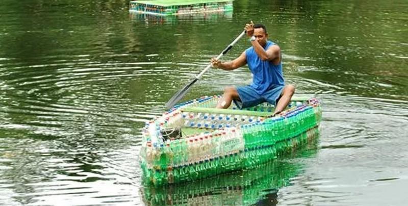 Cómo reutilizar botellas de plástico con ideas creativas