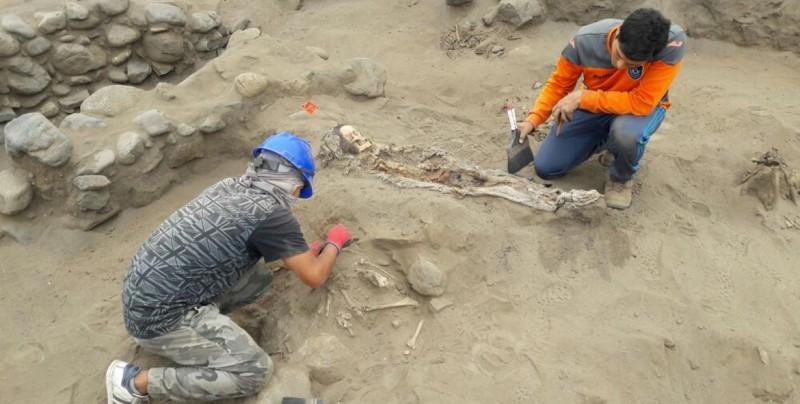 #Video Encuentran esqueletos de 56 niños sacrificados