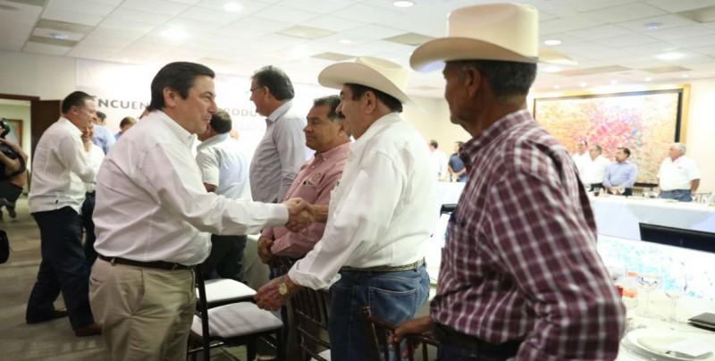 Visita del Titular de SAGARPA a Sinaloa trae certidumbre a Productores